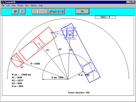 semi truck turning radius diagram pictures to pin on