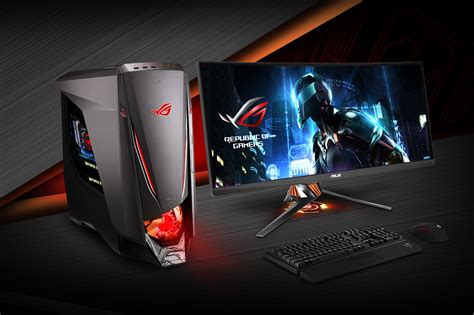asus republic  gamers announces gtca rog republic