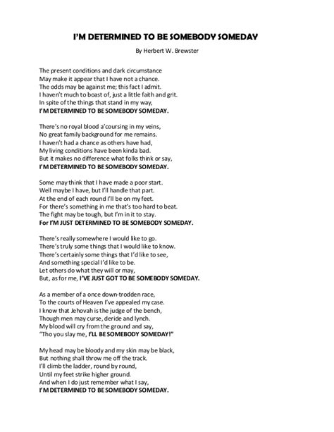 the type of house i want to someday own or build arts and i m determined to be somebody someday poem by herbert w