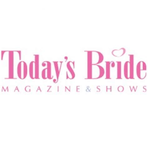 Brides Magazine Logo by Today S Presents Wedding With Andy Ebon