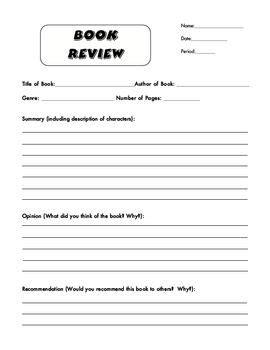 book review template ideas  pinterest writing  book review book report templates