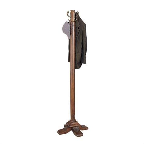 Coat Racks by Powell Furniture Woodbury Mahogany Standing Coat Rack Ebay