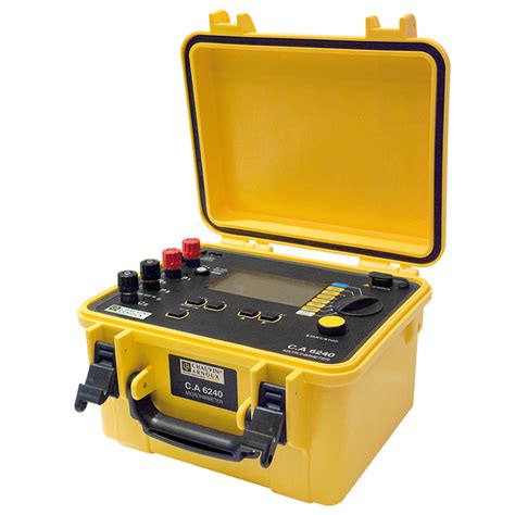 Jual Multimeter Chauvin Arnoux jual chauvin arnoux micro ohmmeter c a 6240 tridinamika