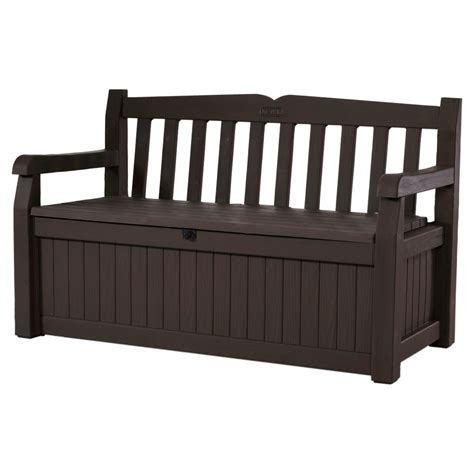 keter bench deck box upc 731161039331 keter benches 70 gal bench deck box in