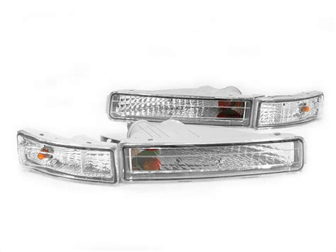 pair of crystal ls 1995 1996 1997 lexus ls400 ls 400 crystal clear front