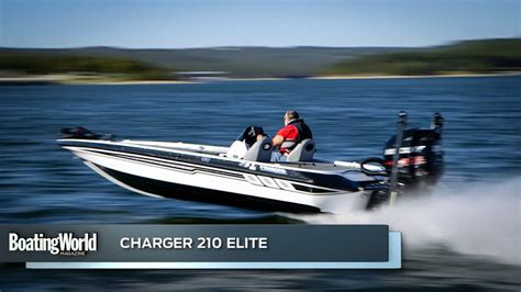 boat test charger 210 elite boat test youtube