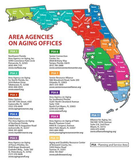 florida department of elder affairs aging resource centers
