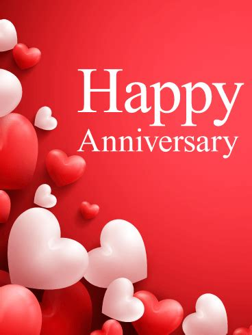 Ask Styledash Gift For Our 3rd Anniversary by Balloon Happy Anniversary Card Birthday Greeting