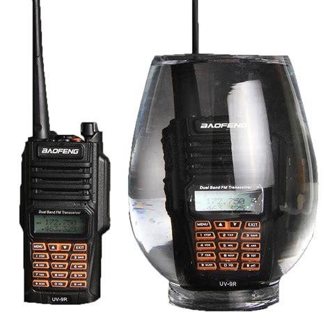 Walkie Talkie Waterproof For Baofeng baofeng uv 9r walkie talkie ip67 waterproof dual band 136