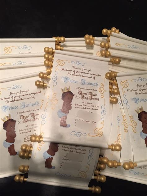 Scroll Baby Shower Invitations 25 best ideas about scroll invitation on