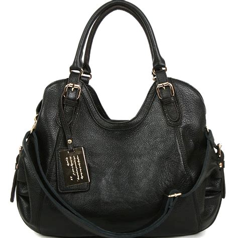 Can You Purchase Items Online With A Visa Gift Card - new leather handbag shoulder women bag brown black hobo tote purse designer lady ebay