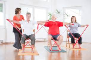 Chair Exercises With Resistance Bands » Home Design 2017