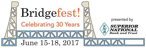 superior national bank bridgefest 2017 logo keweenaw report