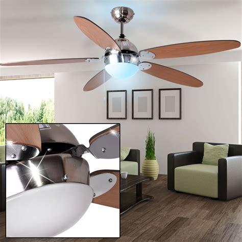 led decken ventilator raum kuehler wohnzimmer rgb lampe mit