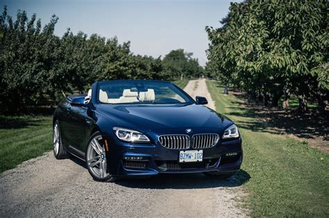 review 2017 bmw 650i xdrive cabriolet canadian auto review