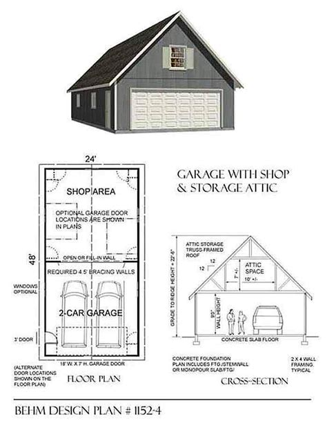 garage planen not only does this garage plan depth but