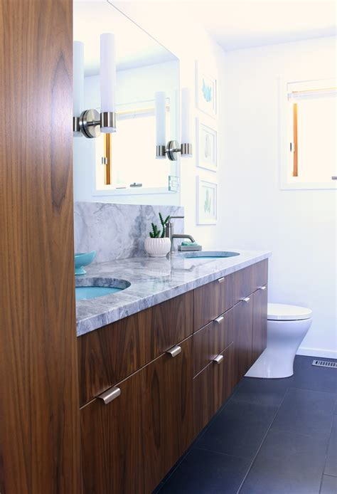 Modern Bathroom Renovation by A Mid Century Modern Inspired Bathroom Renovation Before