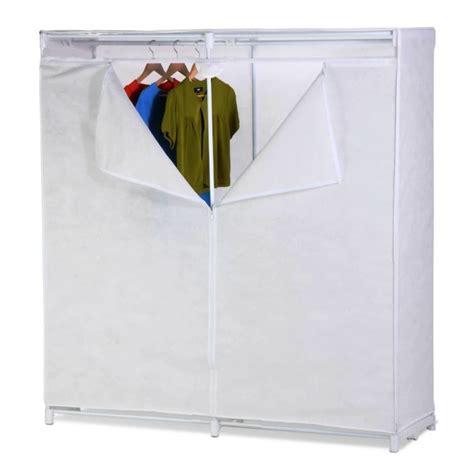 White Clothes Cupboard Portable Wardrobe Closet Cabinet Storage Clothes Organizer