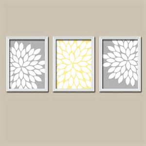 Yellow And Gray Wall Decor by Yellow Gray Wall Canvas Or Prints Yellow Gray Bedroom