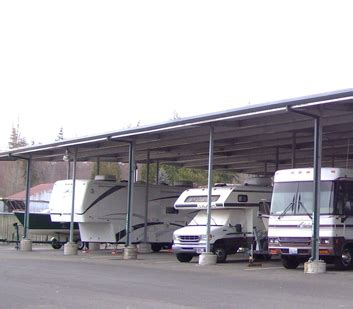covered boat storage self storage bellingham covered rv and boat storage