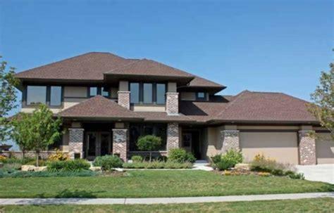 prairie style house plan 3 beds 2 5 baths 2979 sq ft doble garaje planos de casas gratis