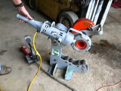 Kunci Pipa Ridgid 12 ridgid 258xl pipe cutter with ridgid 700 drive for