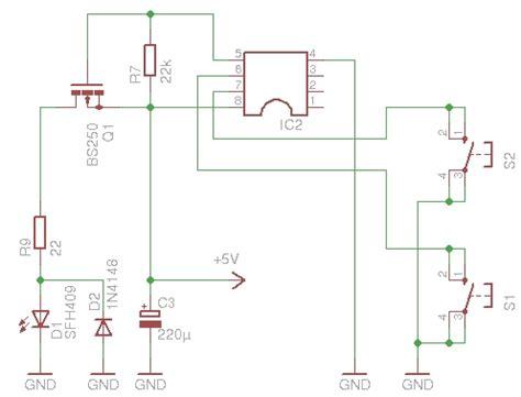 ir diode widerstand infrarot