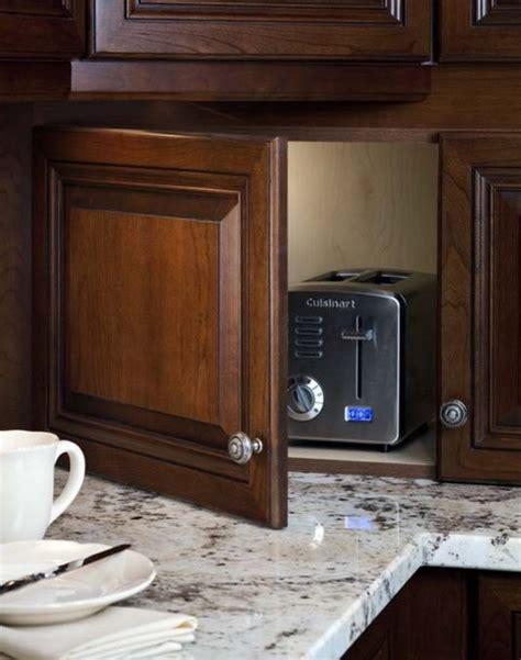 creative storage ideas for small kitchens 42 идеи для хранения мелкой техники на кухне pro handmade