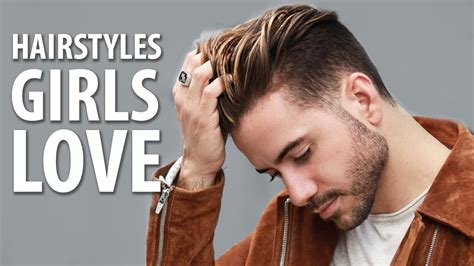 girl hairstyles guys love 5 hairstyles girls love on guys best men s hairstyles