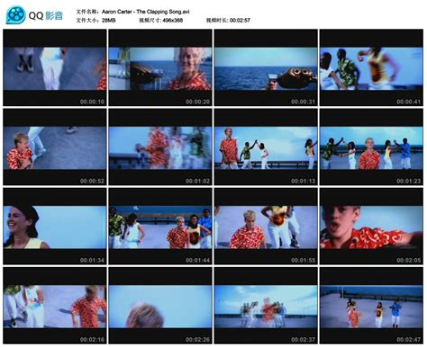 aaron carter the clapping song aaron carter videocollect page 2