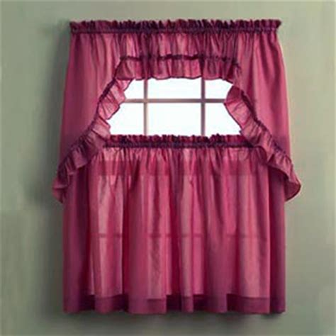 sheer swag curtains html myideasbedroom