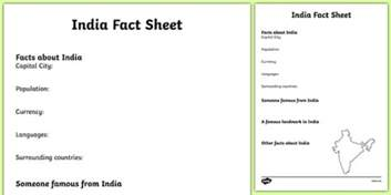 facts template india fact sheet writing template india india fact sheet