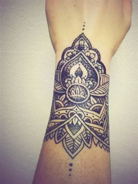 upper wrist tattoos 20 mandala images pictures and ideas