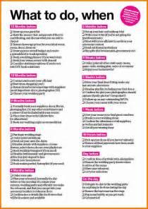 4 simple wedding checklist expense report