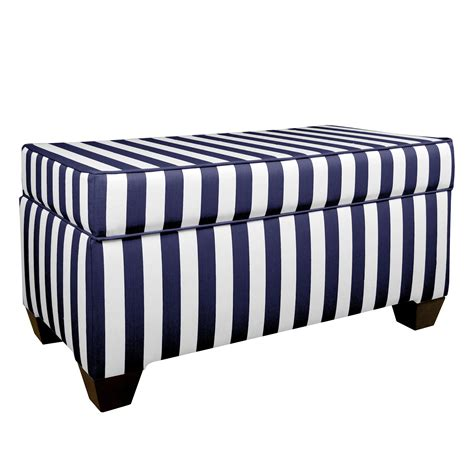 black and white ottoman black and white striped ottoman mid century black and