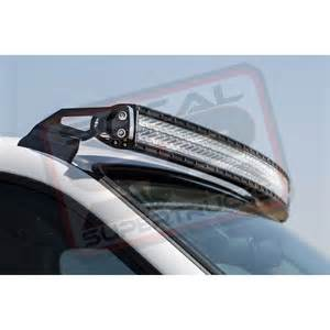 How To Install Led Light Bar On Roof Light Bar Roof Mount Brackets For 50 Quot Rigid Rds Led 2007 2013 Silverado