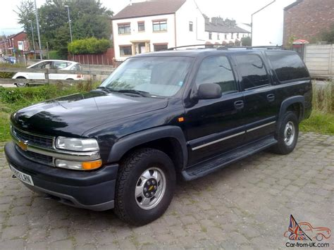 chevrolet suburban 7 seats 2001 chevrolet suburban 7 seater 4x4 black