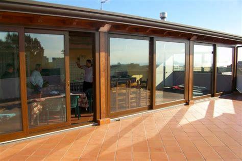 verande di legno verande in alluminio legno pn serramenti