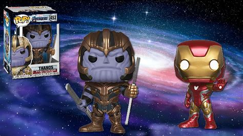 avengers endgame funko pops revealed gamespot