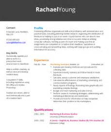 marketing assistant cv exle hashtag cv