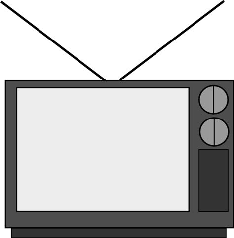 Tv Outline Png by Television Clip At Clker Vector Clip Royalty Free Domain
