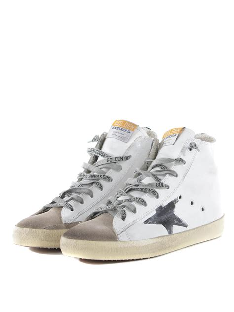 golden goose high top sneakers francy high top sneakers by golden goose trainers ikrix