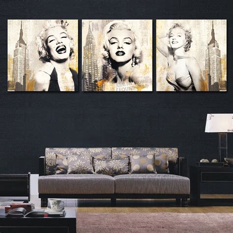 marilyn monroe home decor marilyn monroe poster movie modern wall pictures for living room canvas picture art painting