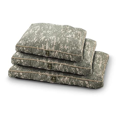military beds u s army dog bed digital camo 165212 kennels beds