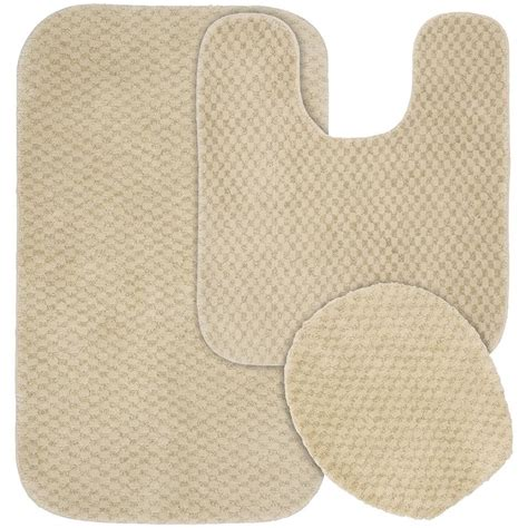 bathroom rugs set 3 piece 3 piece bathroom mat sets advantage