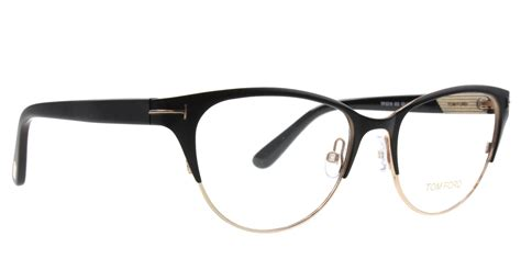 new tom ford eyeglasses cat eye tf 5318 matte black
