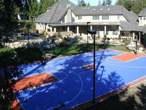 backyard courts backyard courts gallery sport court of southern california