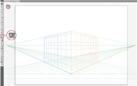 tutorial illustrator perspective tool using illustrator cs5 tools to create a painted house