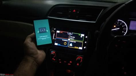 android auto update android auto update for owners of maruti s smartplay infotainment system team bhp