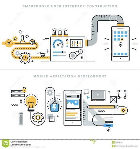 application design concepts for industrial applications flat line design concepts for mobile apps development